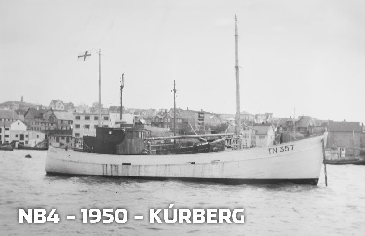 Tórshavnar Skipasmiðja - NB4 - 1950 - Kúrberg