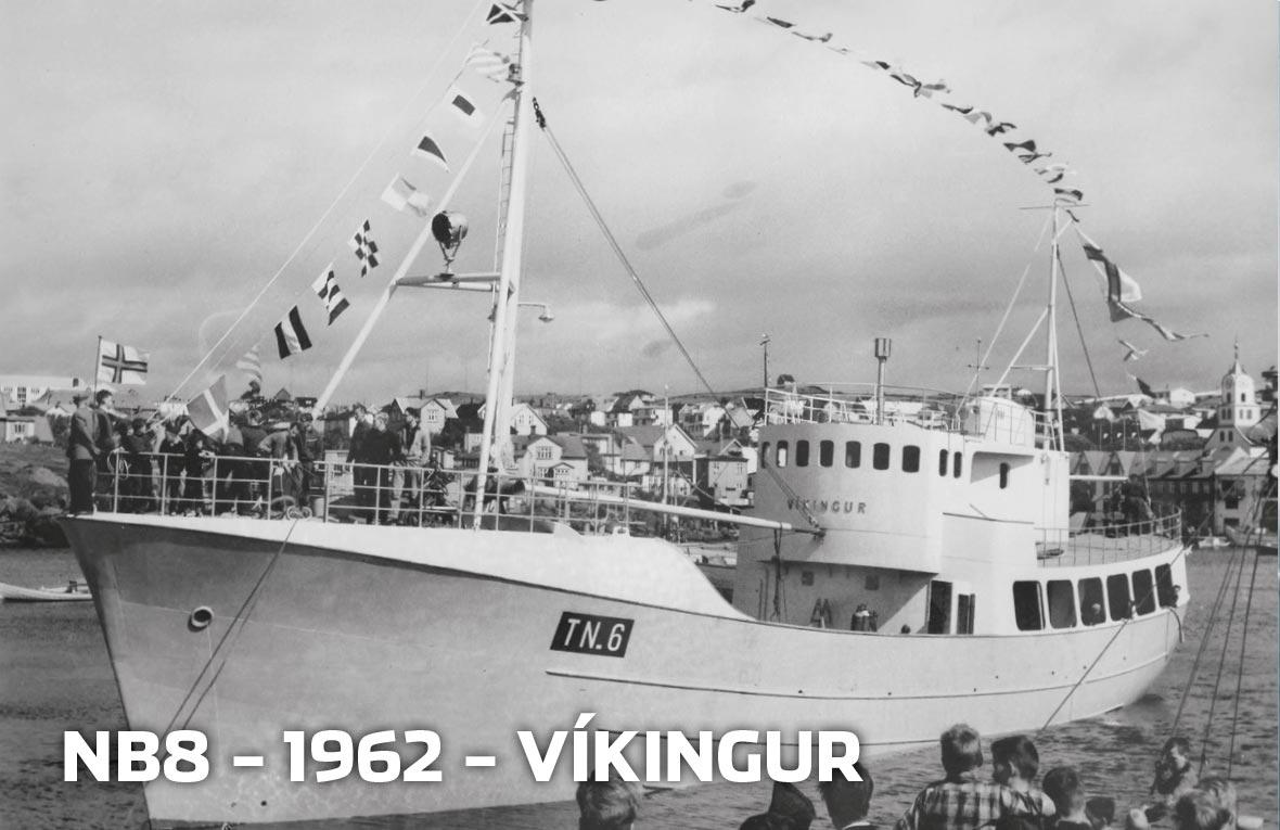 Tórshavnar Skipasmiðja - NB8 - 1962 - Víkingur