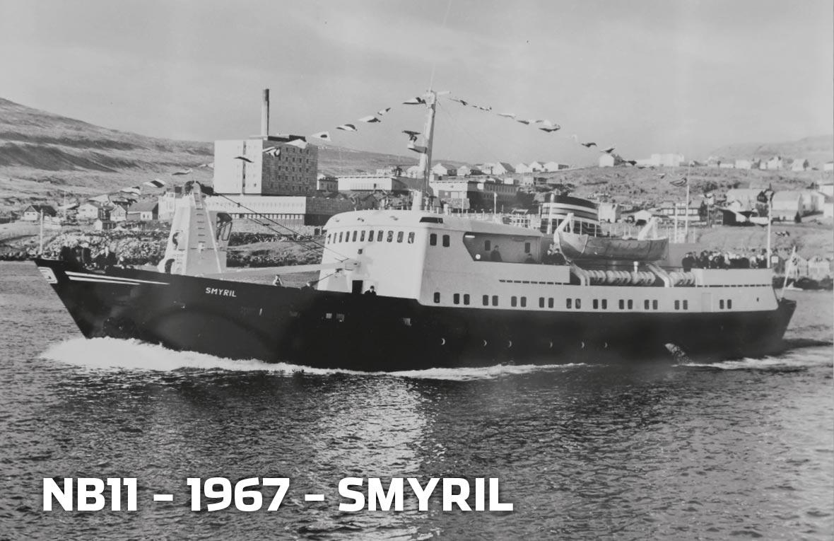 Tórshavnar Skipasmiðja - NB11 - 1967 - Smyril