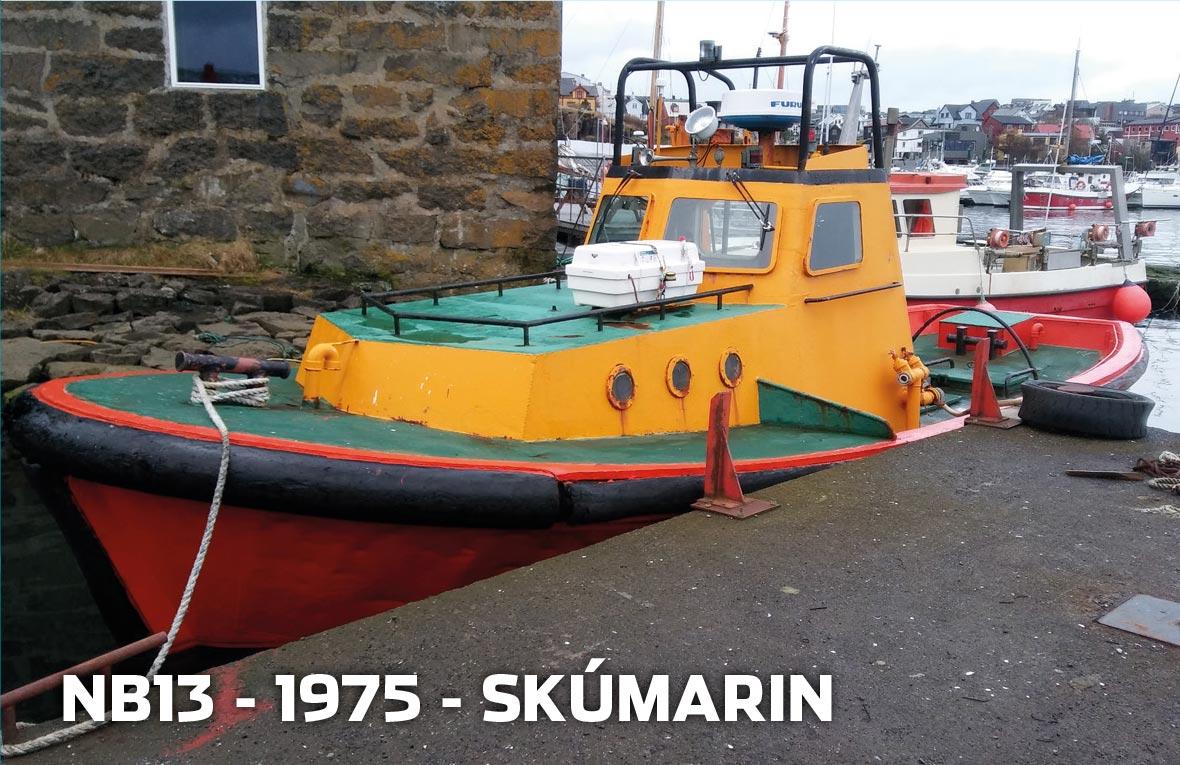 Tórshavnar Skipasmiðja - NB13 - 1975 - Skúmarin