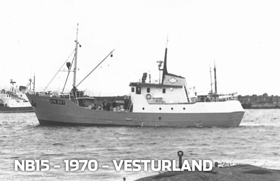Tórshavnar Skipasmiðja - NB15 - 1970 - Vesturland