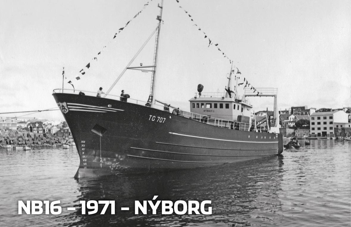 Tórshavnar Skipasmiðja - NB16 - 1971 - Nýborg