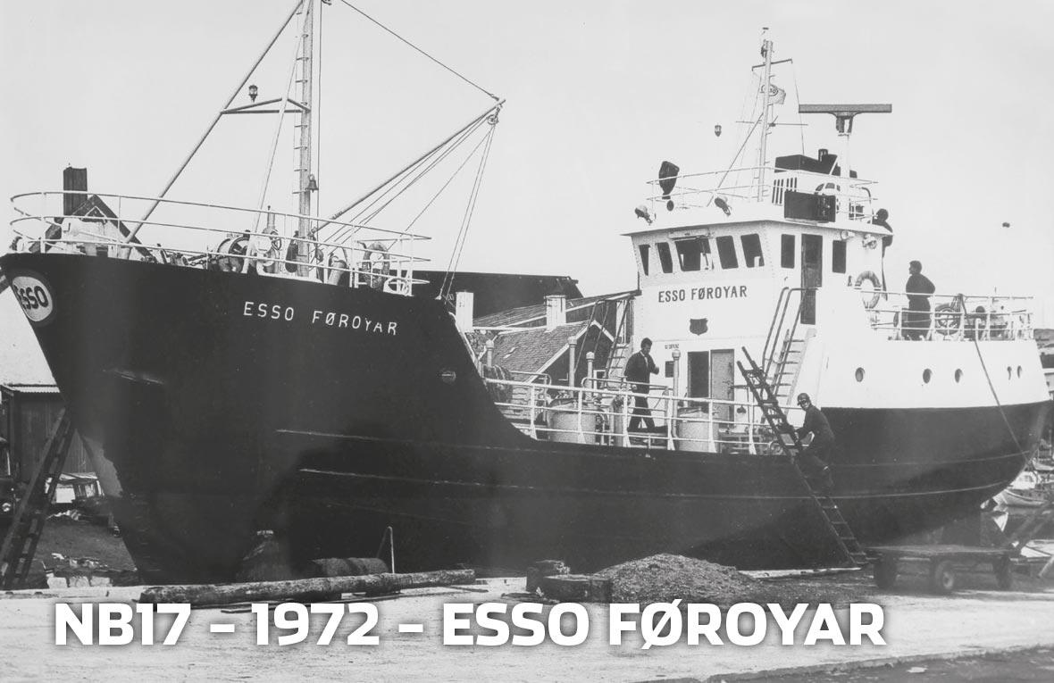 Tórshavnar Skipasmiðja - NB17 - 1972 - ESSO Føroyar
