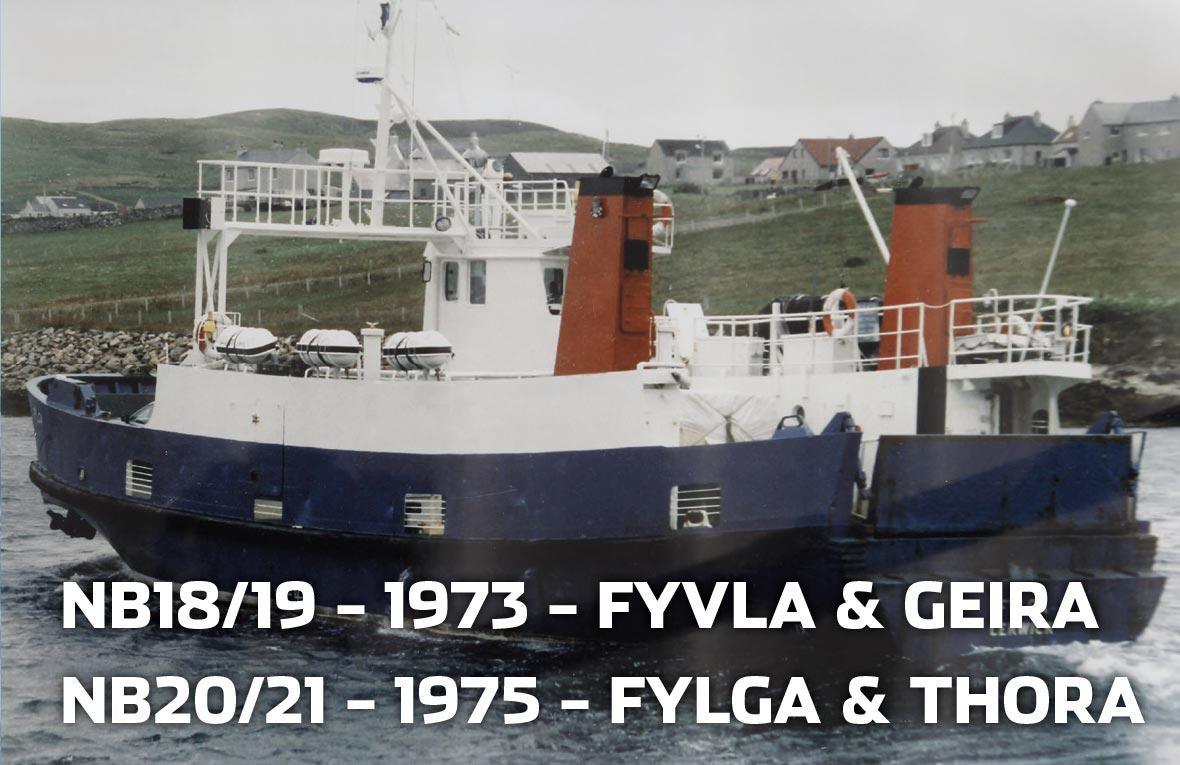 Tórshavnar Skipasmiðja - NB19 - 1973 - Geira